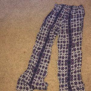 Brandy flowy pants!